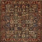 PERSIAN GARDEN BAKHTIARI Wool rug