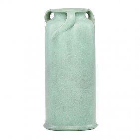 Teco Three-handled Vase