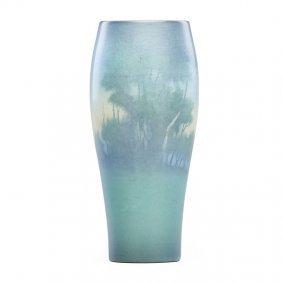 Lenore Asbury; Rookwood Scenic Vellum Vase