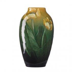 C. Baker; Rookwood Sea Green Vase