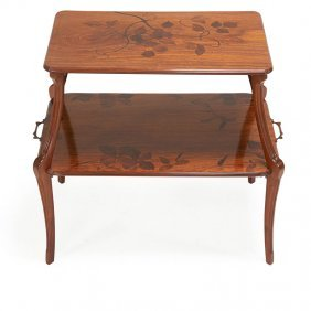 Louis Majorelle Art Nouveau Side Table