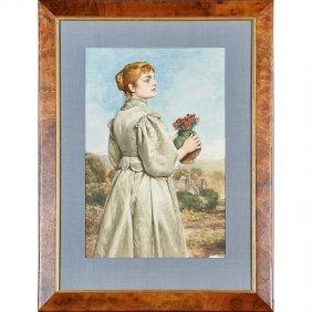 James Dogmire Linton Watercolor
