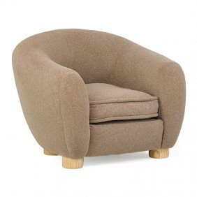 "Jean Royere (attr.) ""ours Polaire"" Chair"