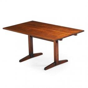 George Nakashima Trestle Dining Table