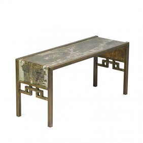 Philip And Kelvin Laverne Festival Console Table