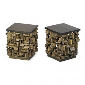 James Bearden Pair Of Side Tables