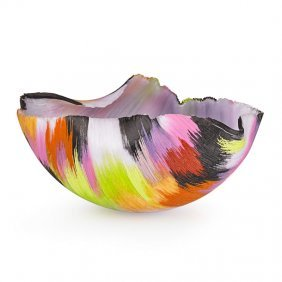 "Mary Ann ""toots"" Zynsky Filet-de-verre Vessel"