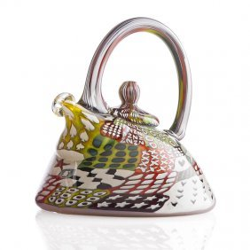 Richard Marquis Checkerboard Teapot