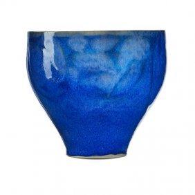 Rudolf Staffel Glazed Porcelain Vase