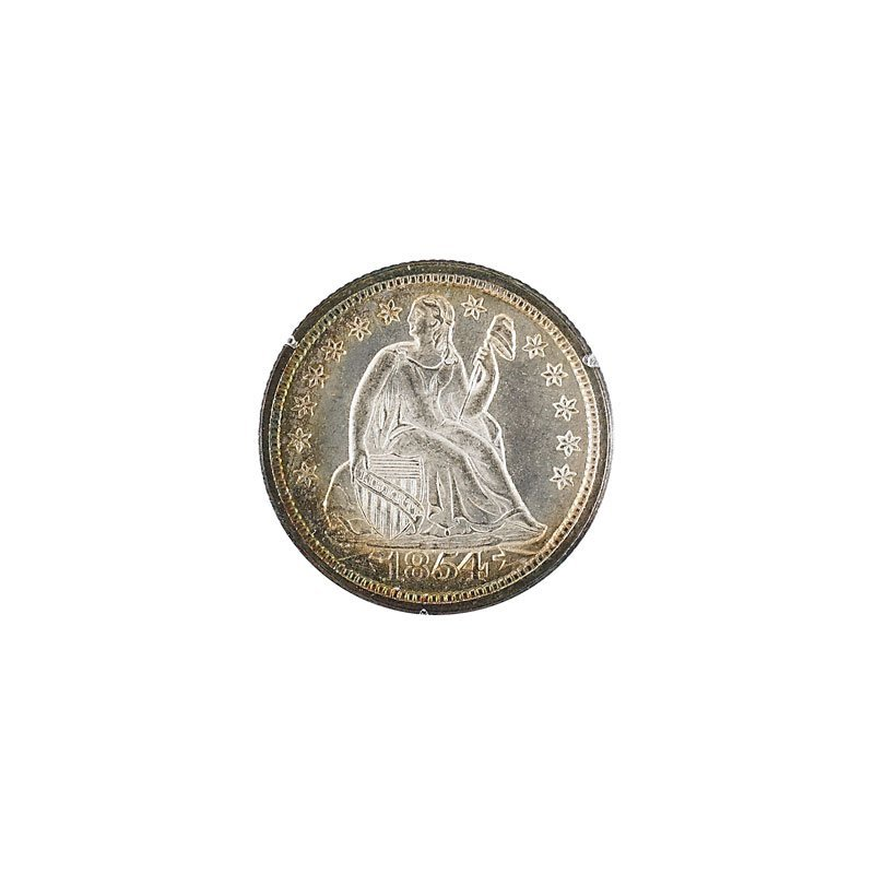 U.S. 1854 10C COIN
