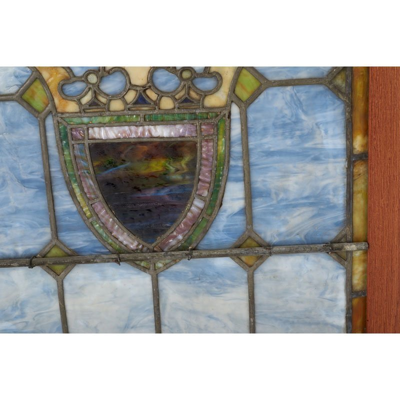 TIFFANY STUDIOS Pair of windows - 3