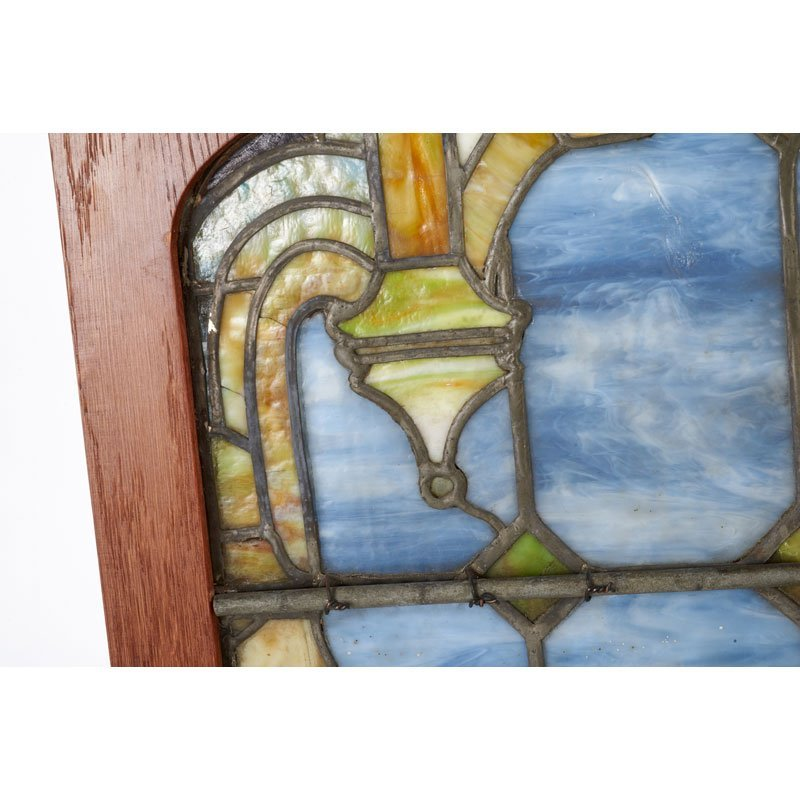 TIFFANY STUDIOS Pair of windows - 7