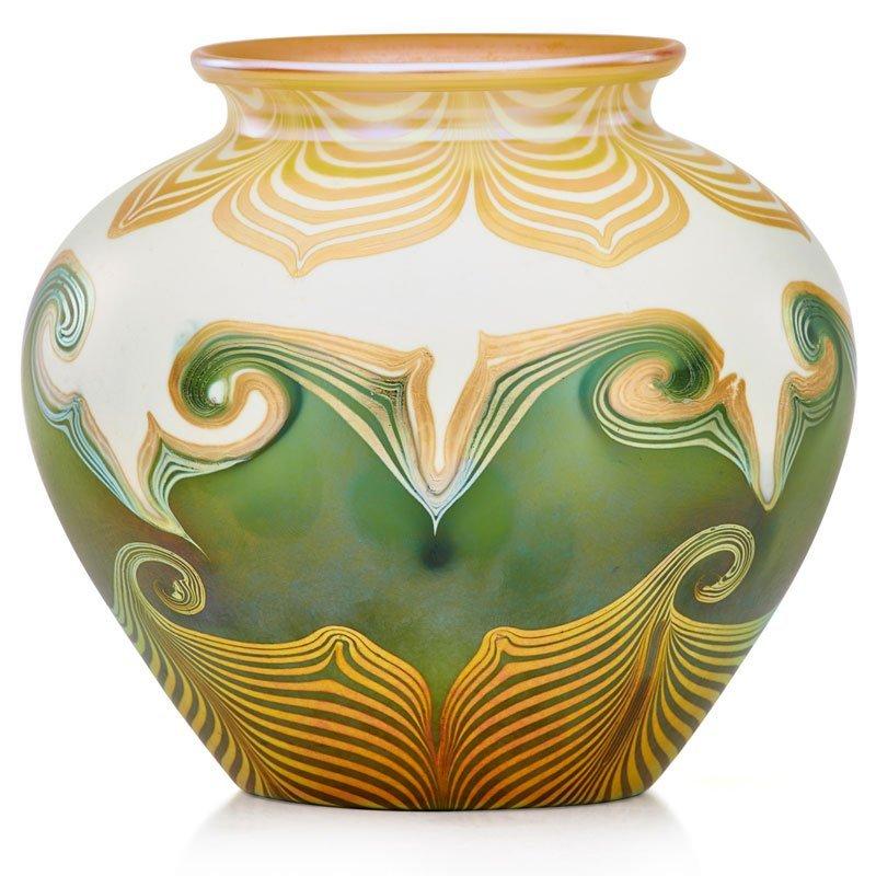 QUEZAL Glass vase - 2