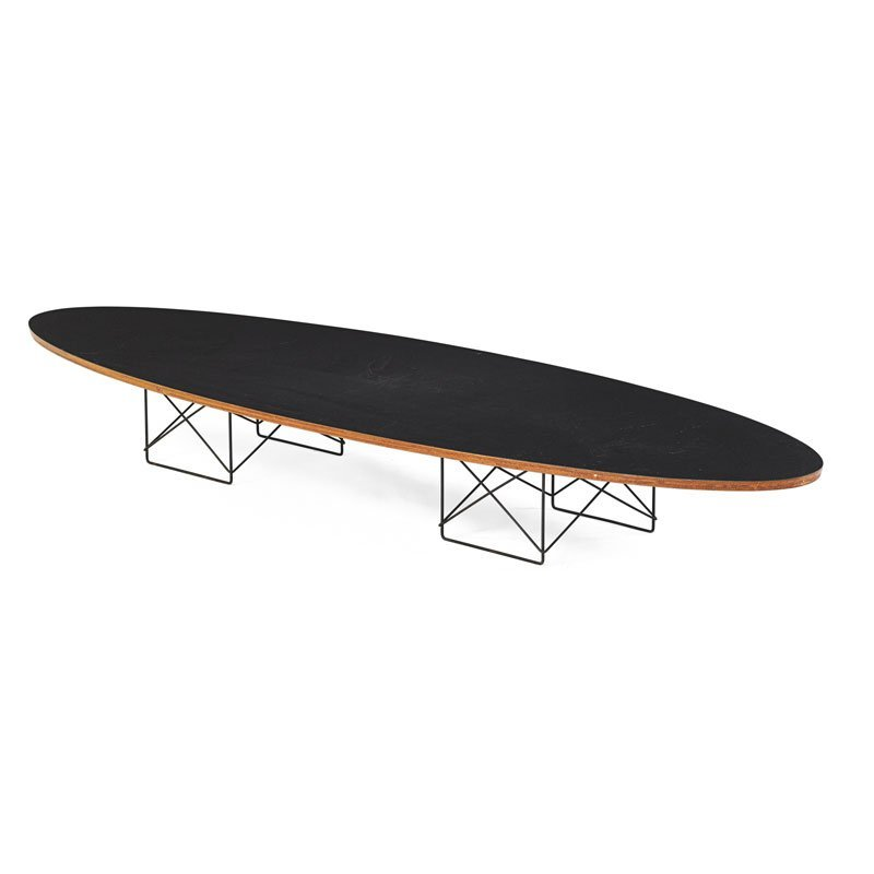 CHARLES AND RAY EAMES Surfboard coffee table