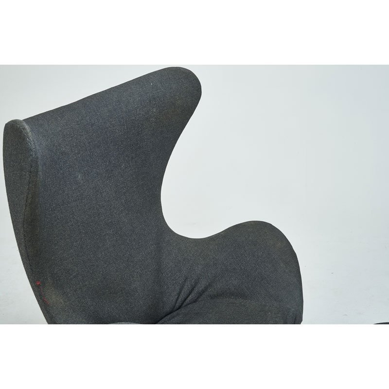 ARNE JACOBSEN Early Egg chair and ottoman - 5