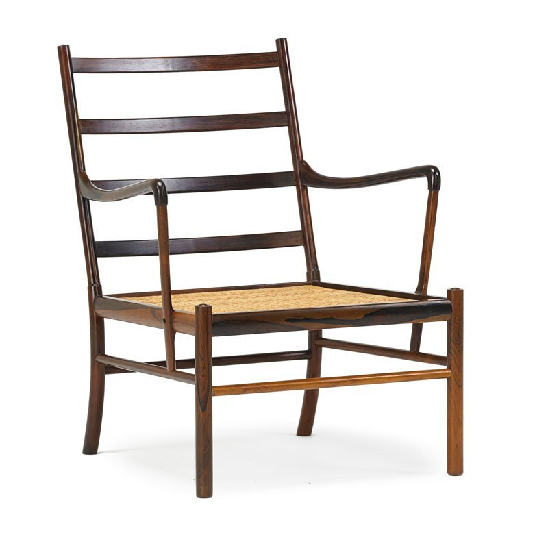 OLE WANSCHER Colonial lounge chair