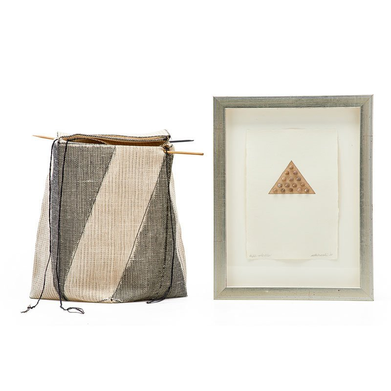KAY SEKIMACHI Fiber basket and small print