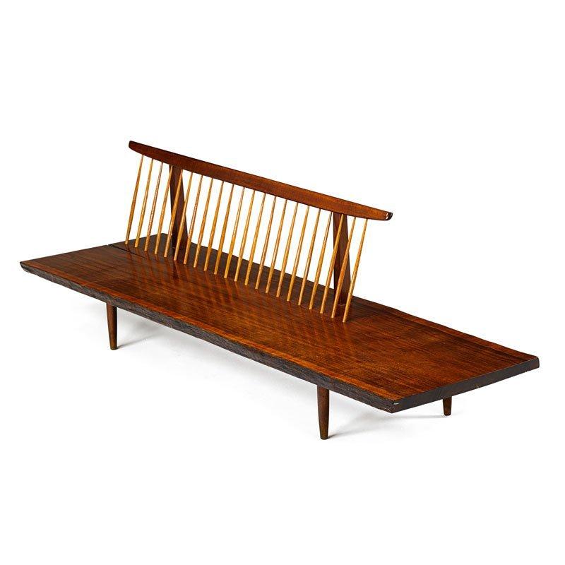 GEORGE NAKASHIMA Fine early Conoid bench