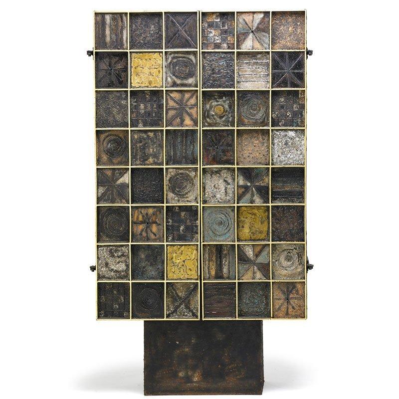 PAUL EVANS Sculpture Front cabinet