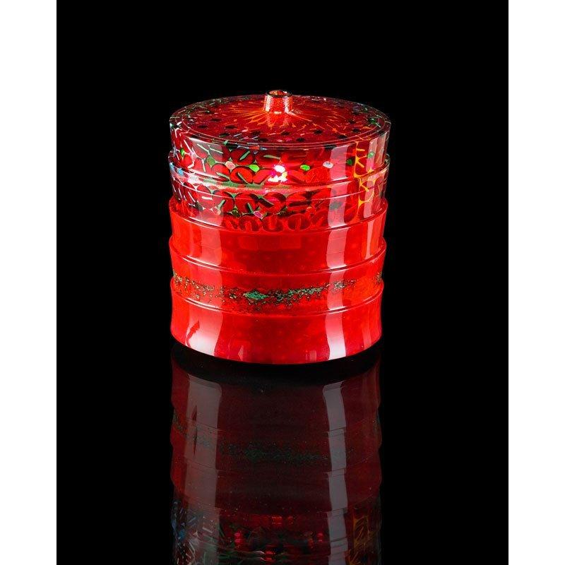 YOICHI OHIRA Murrine in Rilievo glass vase