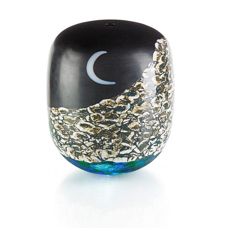 YOICHI OHIRA Notturno glass vase
