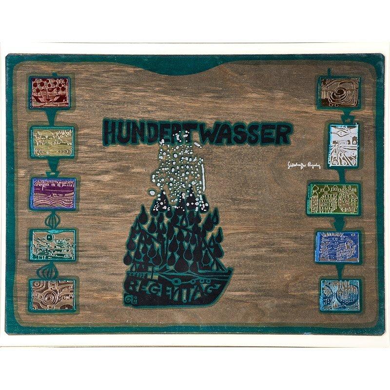 Friedensreich Hundertwasser (Austrian, - 3