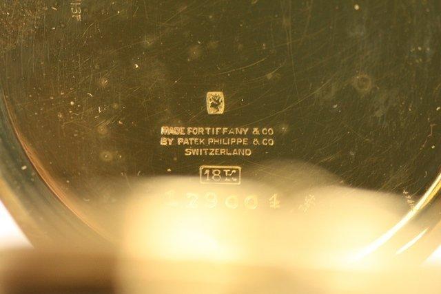PATEK PHILIPPE/TIFFANY OR VACHERON & CONSTANTIN - 7