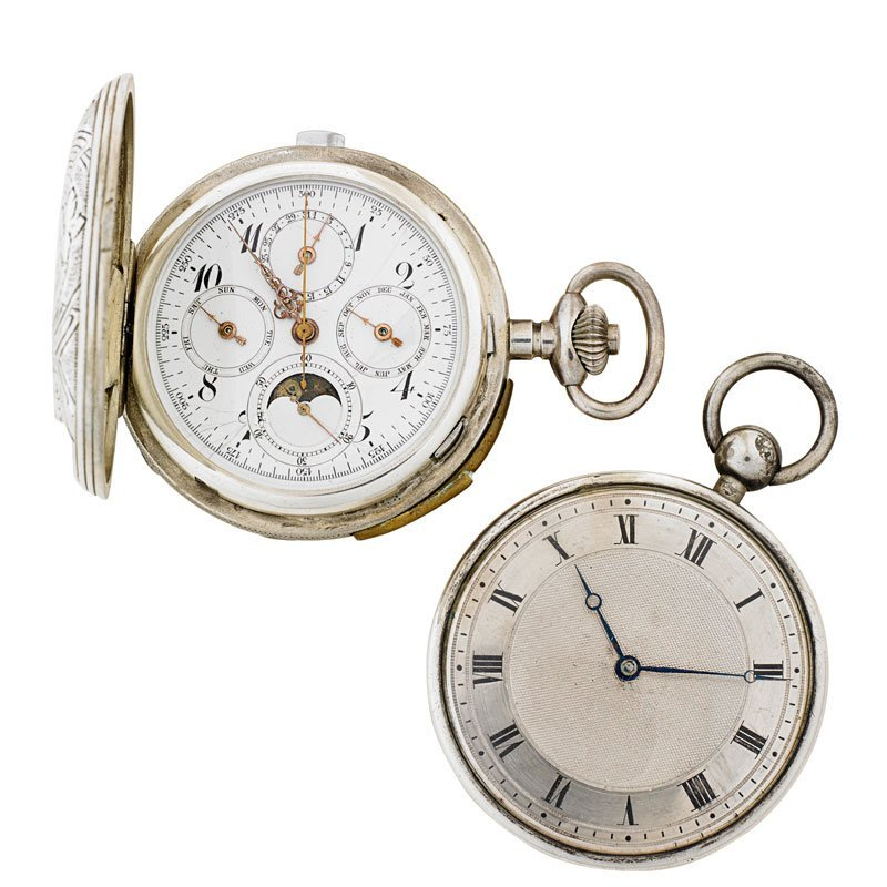 TWO QUARTER HOUR REPEATER POCKET WATCHES