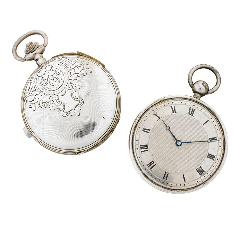 TWO QUARTER HOUR REPEATER POCKET WATCHES - 2