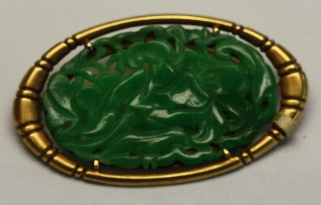 SEVEN PIECES OF CHINESE JEWELRY INCLUDES JADE - 3