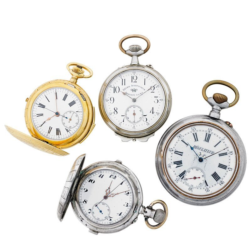 REPEATER OR REGULATOR POCKET WATCHES