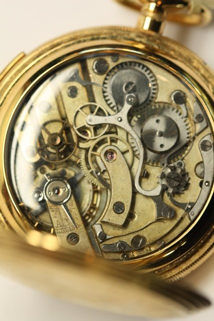 REPEATER OR REGULATOR POCKET WATCHES - 4