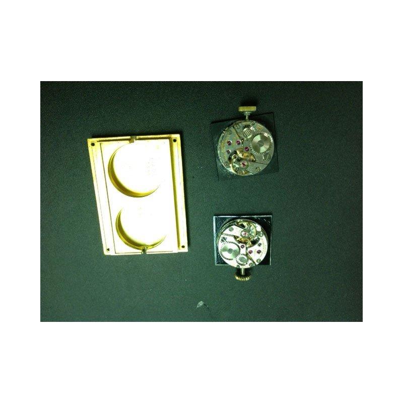 PIAGET GOLD DUAL-TIME MECHANICAL BRACELET WATCH - 3