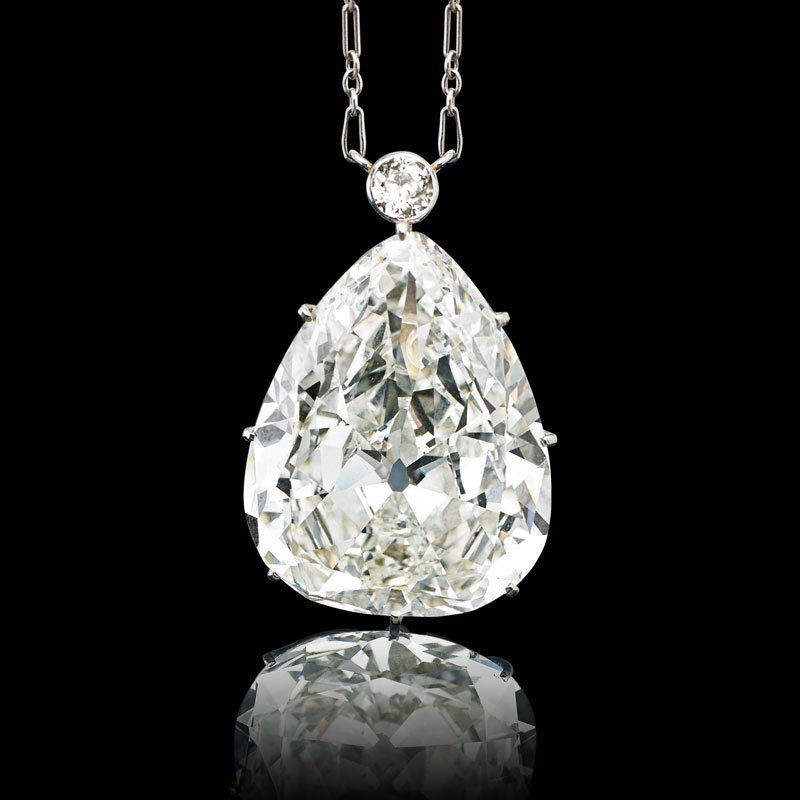 HIGHLY IMPORTANT 28.67 CTS DIAMOND NECKLACE