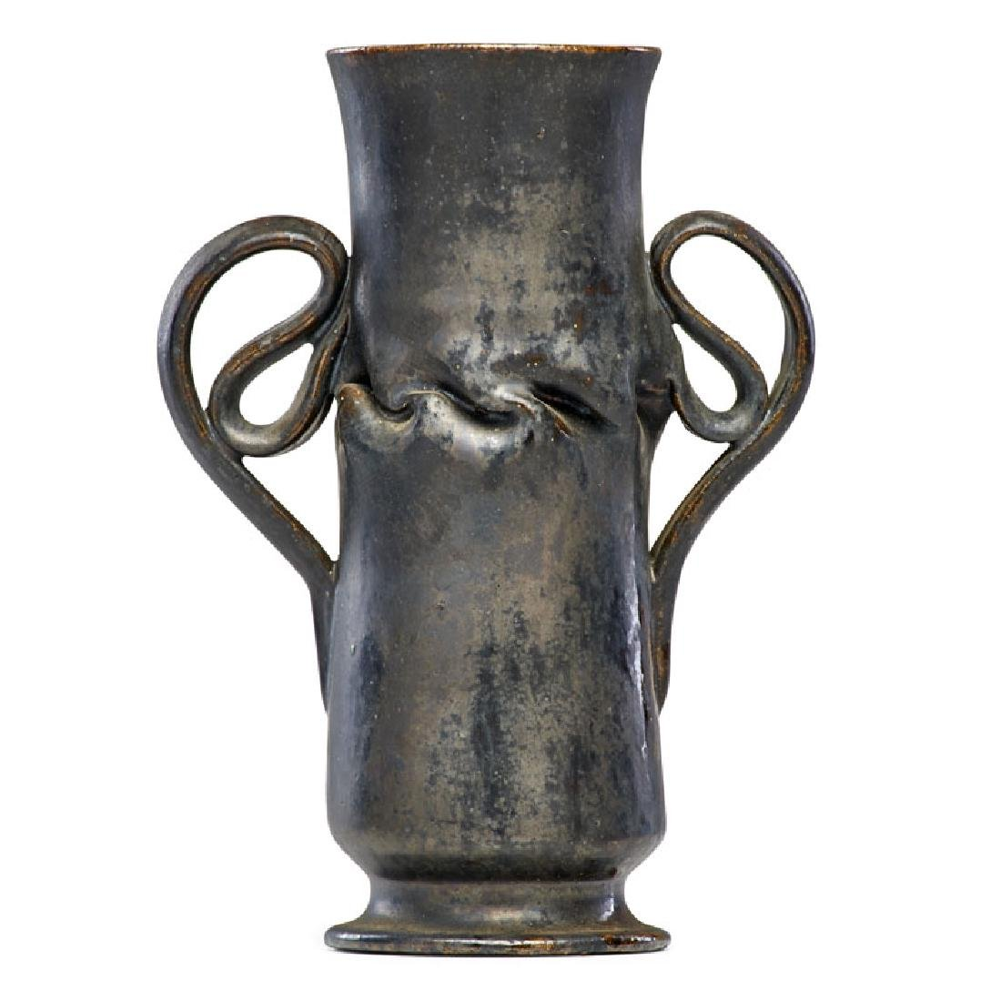 GEORGE OHR Vase with ear handles