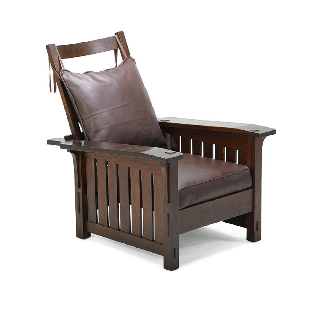 L. & J.G. STICKLEY Rare Morris chair