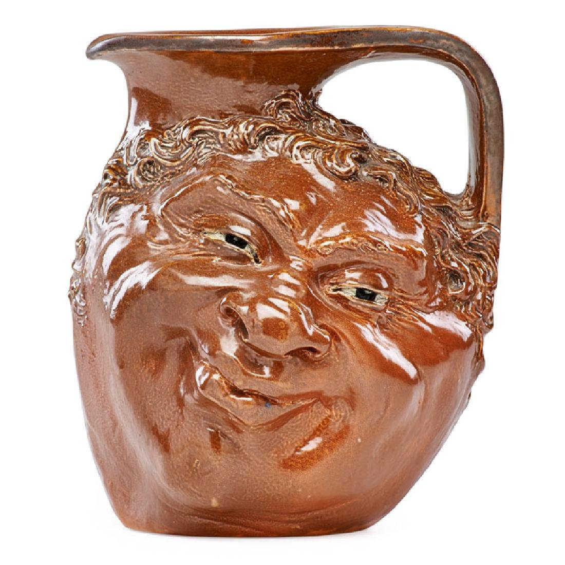 R.W. MARTIN; MARTIN BROTHERS Double-sided face jug