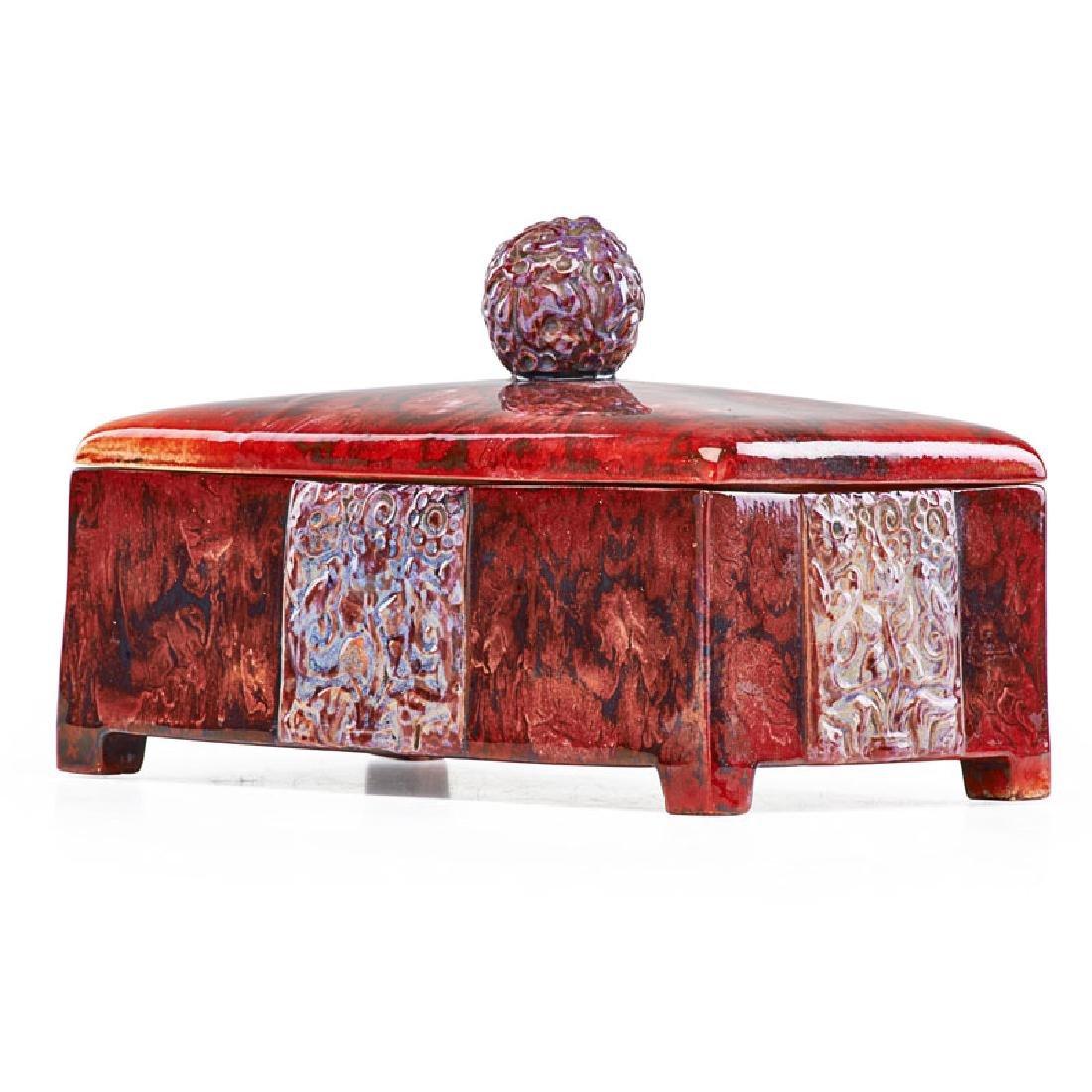 ZSOLNAY Rare decorative box