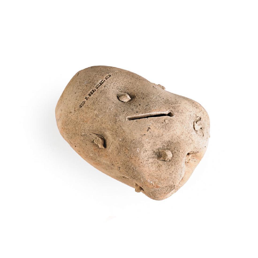 GEORGE OHR Potato novelty bank