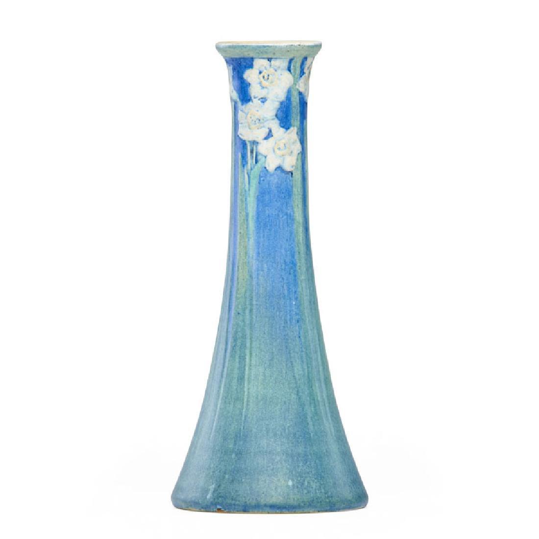 HENRIETTA BAILEY; NEWCOMB COLLEGE Tall vase