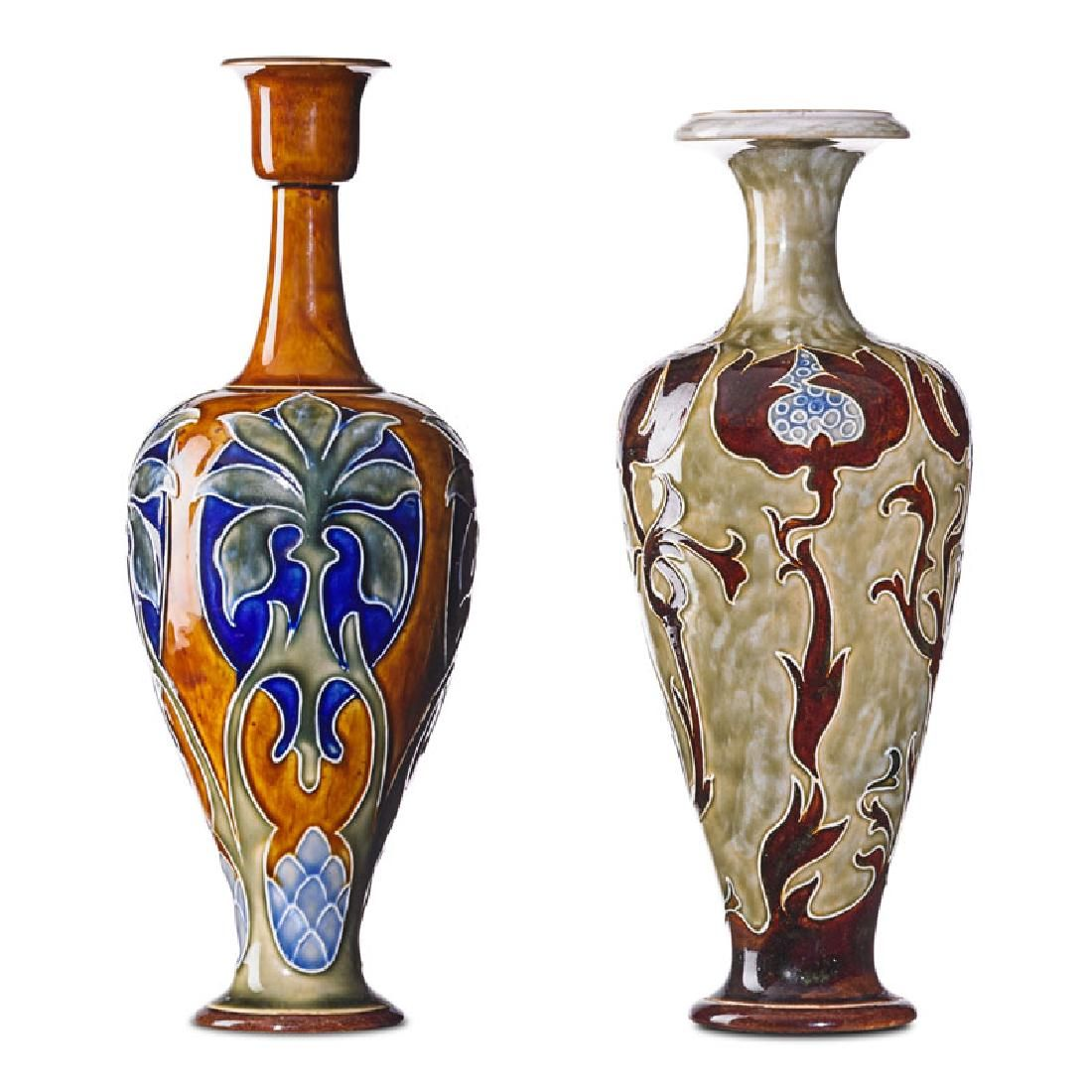 ROYAL DOULTON Two vases