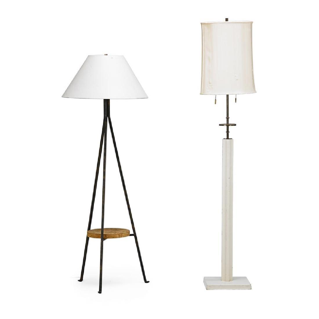 TOMMI PARZINGER Two floor lamps