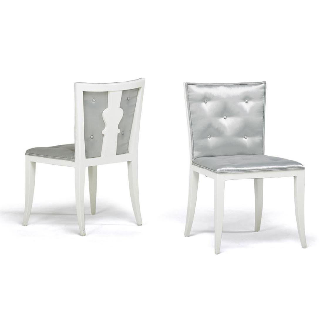 TOMMI PARZINGER Pair of sidechairs