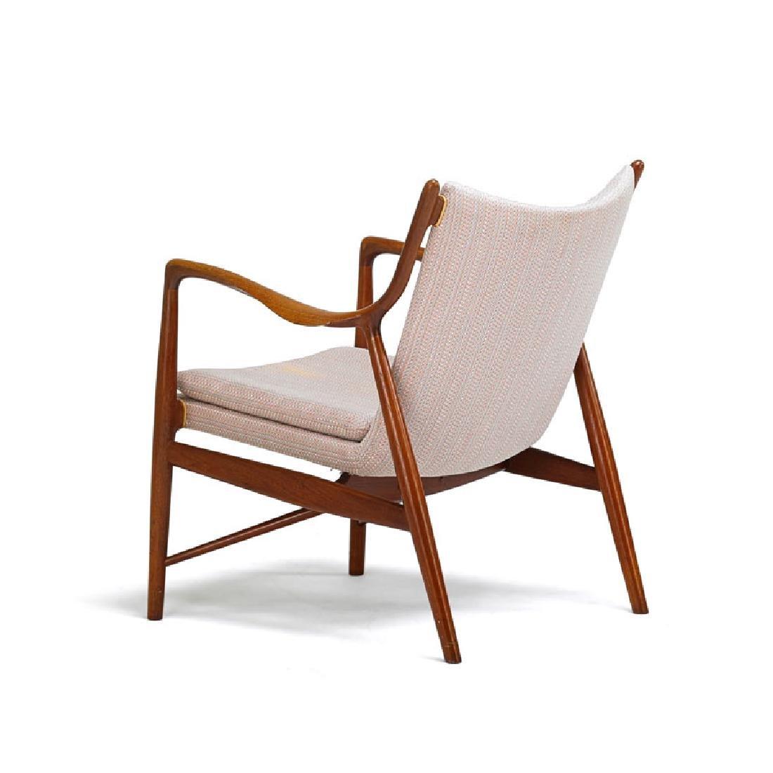 FINN JUHL; NIELS VODDER NV-45 chair - 2