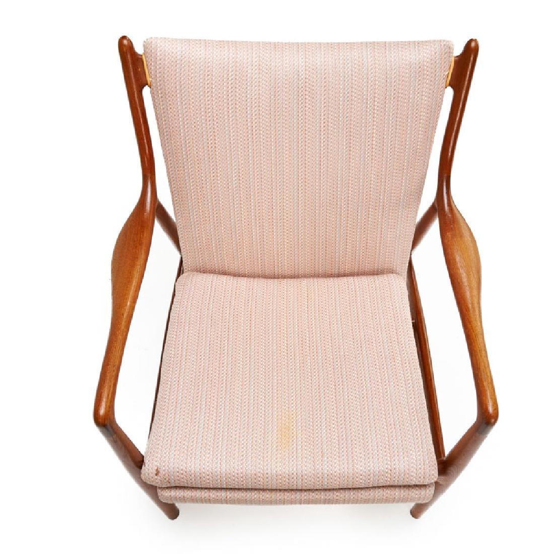 FINN JUHL; NIELS VODDER NV-45 chair - 3