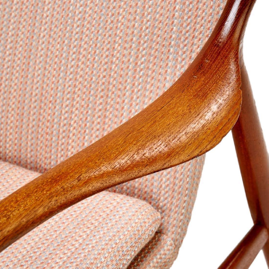 FINN JUHL; NIELS VODDER NV-45 chair - 5