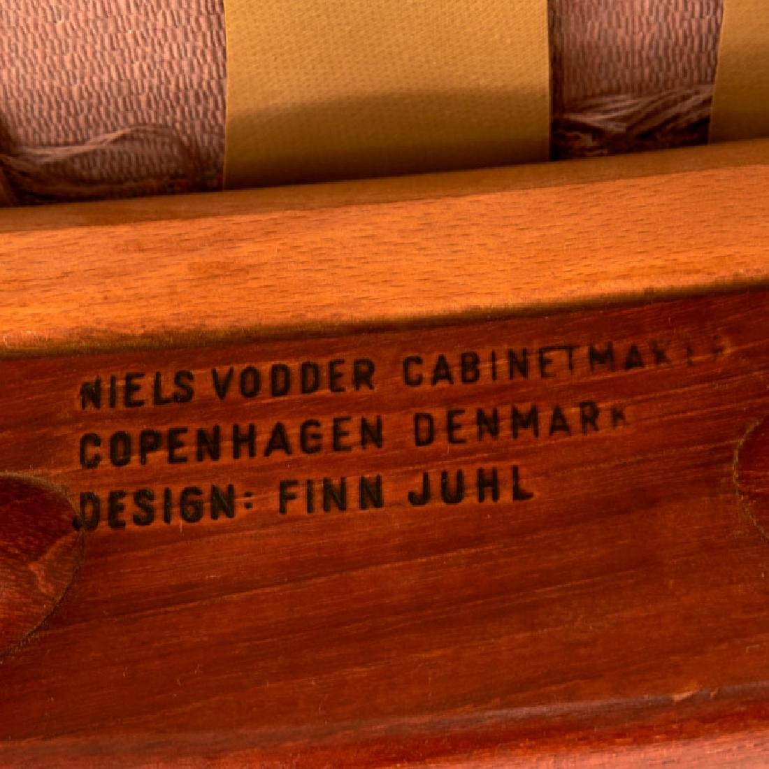 FINN JUHL; NIELS VODDER NV-45 chair - 7