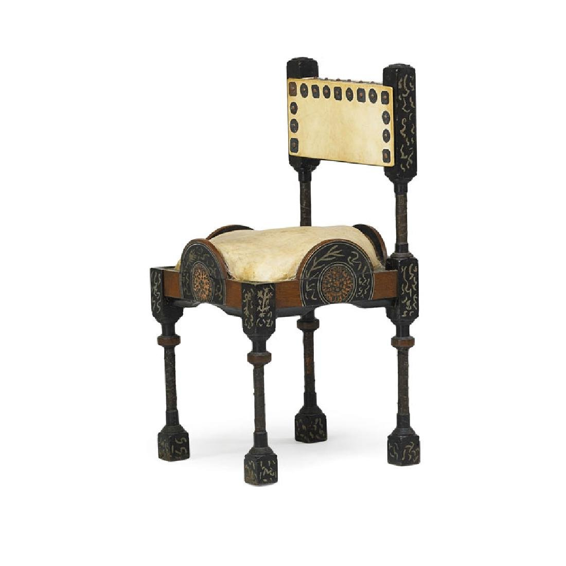 CARLO BUGATTI Side chair - 2