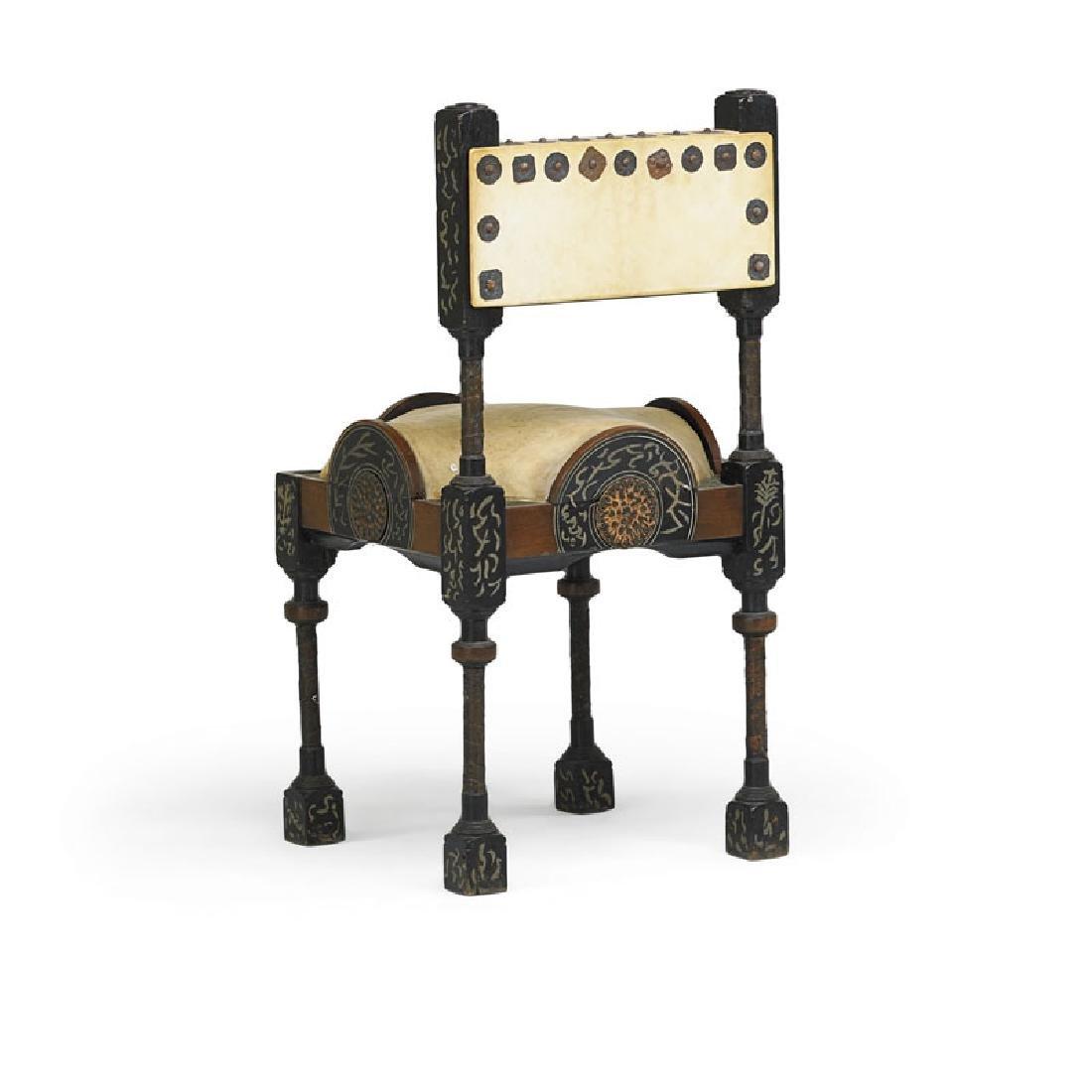 CARLO BUGATTI Side chair - 3