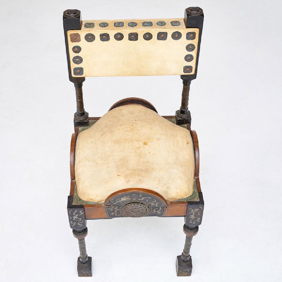CARLO BUGATTI Side chair - 4